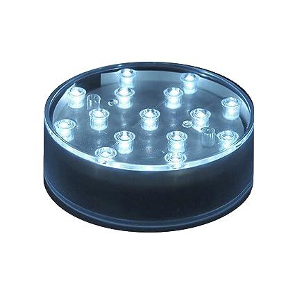 Battery Operated LED BaseLite - Round  sc 1 st  Amazon.com & Amazon.com : Battery Operated LED BaseLite - Round : Led Household ...
