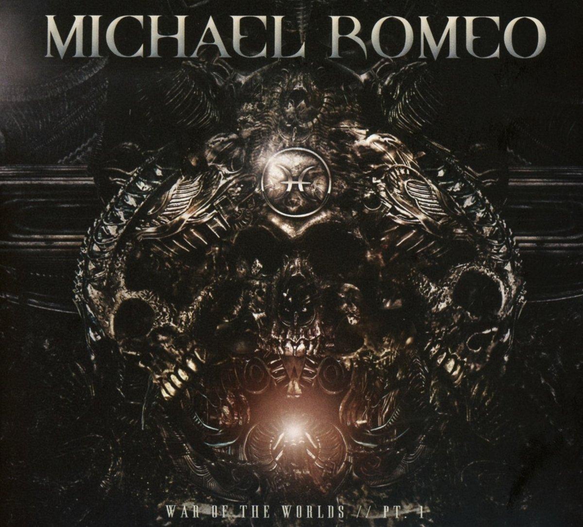 CD : Michael Romeo - War Of The Worlds Pt. 1 (CD)