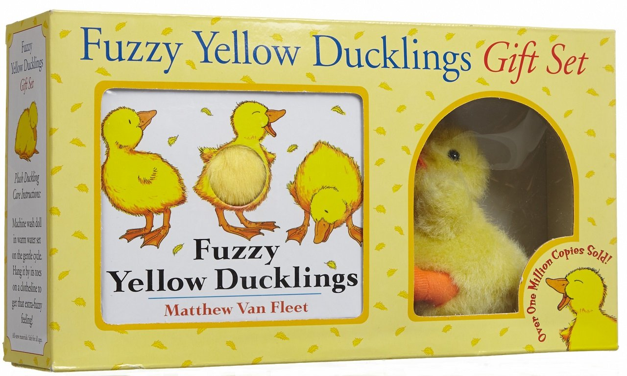 Fuzzy Yellow Ducklings Gift Set product image