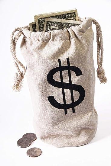 Amazon.com  Forum Novelties Money Bag  Toys   Games 250d94f6aea58