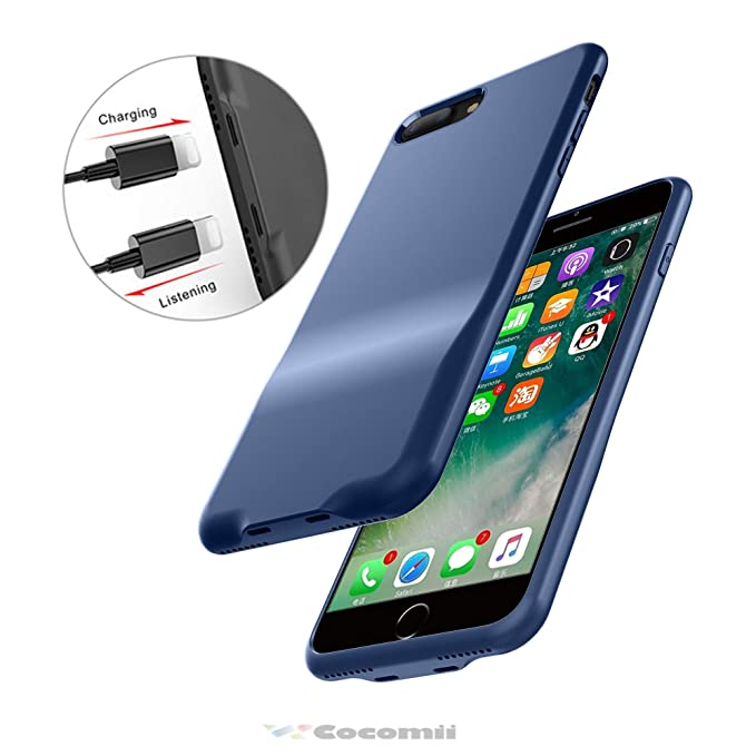 the latest 7b2f3 80f68 Cocomii Duo Lightning Audio Armor iPhone 8 Plus/7 Plus Case New [Dual  Lightning Jack Adapter Case] Call+Audio+Charger Cover [No Dongles] Charge &  ...