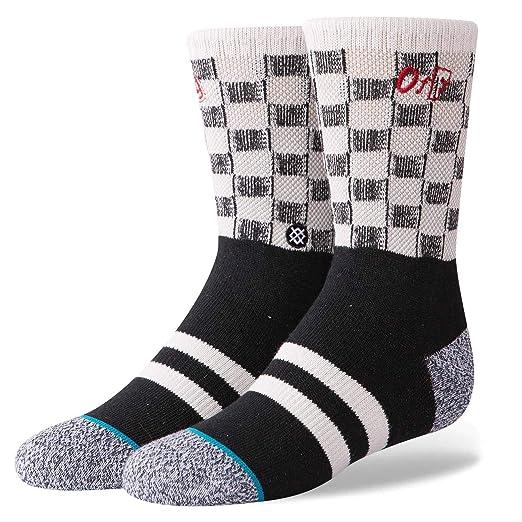 : Stance Check Me Out Boys Socks Black Medium