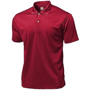 Wundou P335?XXL - Polo Deportivo para Hombre, Color Rojo: Amazon ...