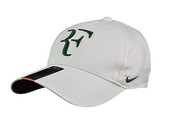 4d69bd85903 Nike DRI-FIT Roger Federer Legacy 91 Tennis Cap Hat 371202 113 Off-White