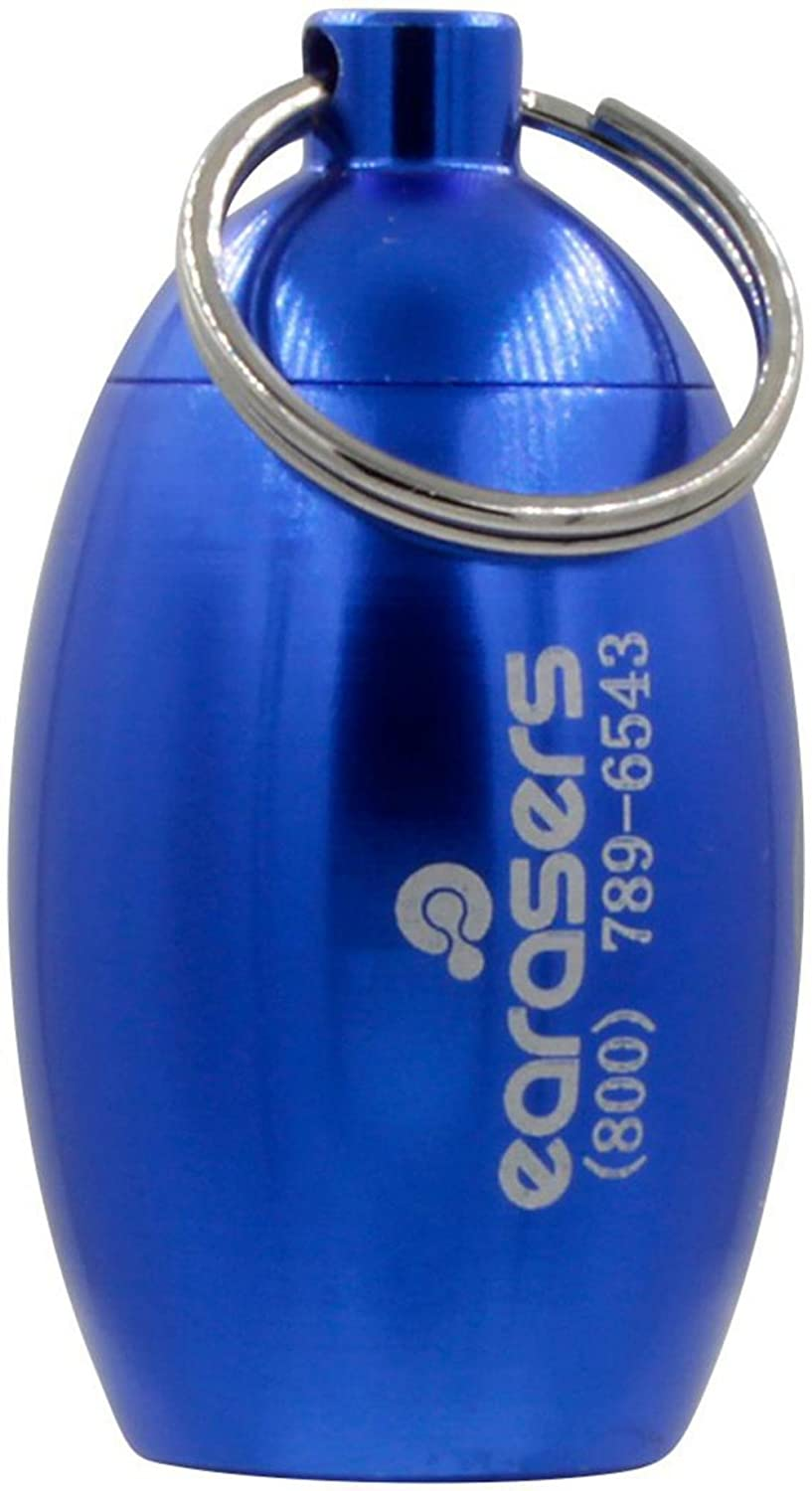 Earasers Ear Plug Carrying Case Blue