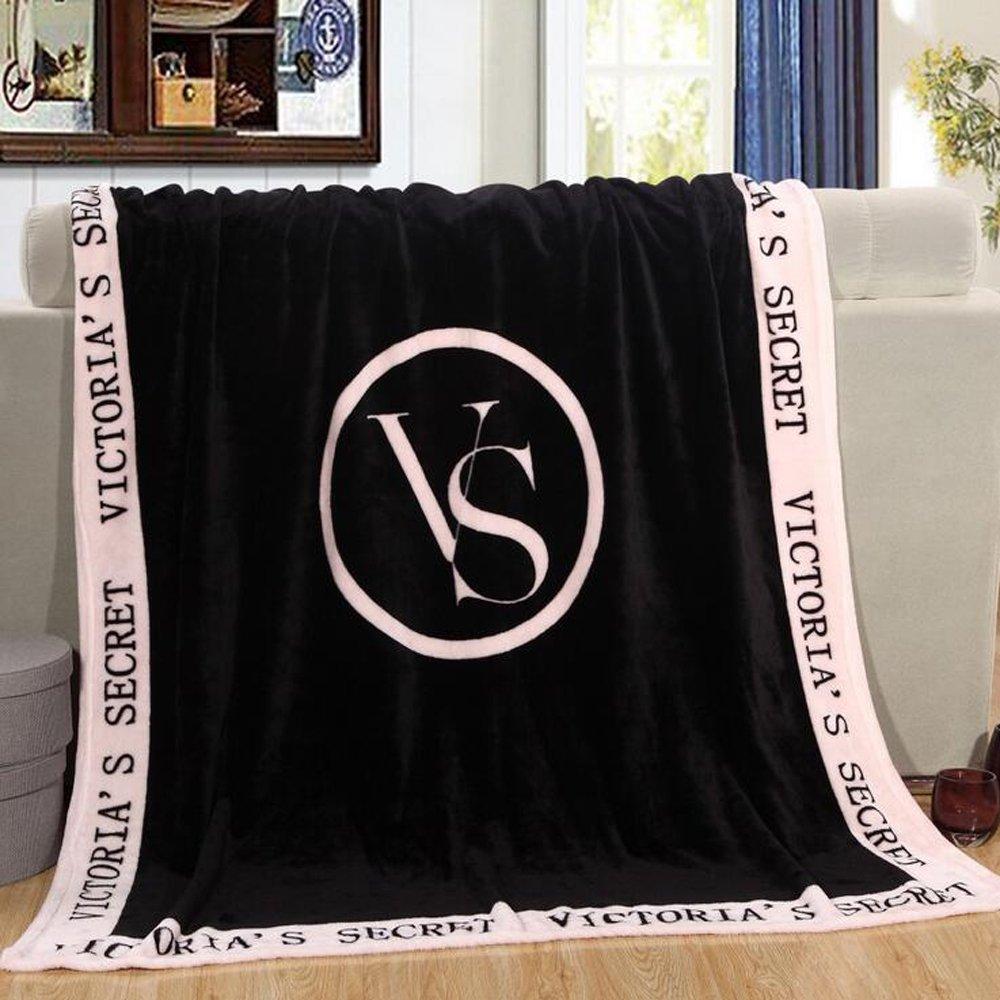 130cm*160cm Warm Blanket Pink VS Secret Blanket Throws on Bath// Sofa//Bed//Plane Travel Coral Fleece Plaids Blanket HCHL Manufacturer d
