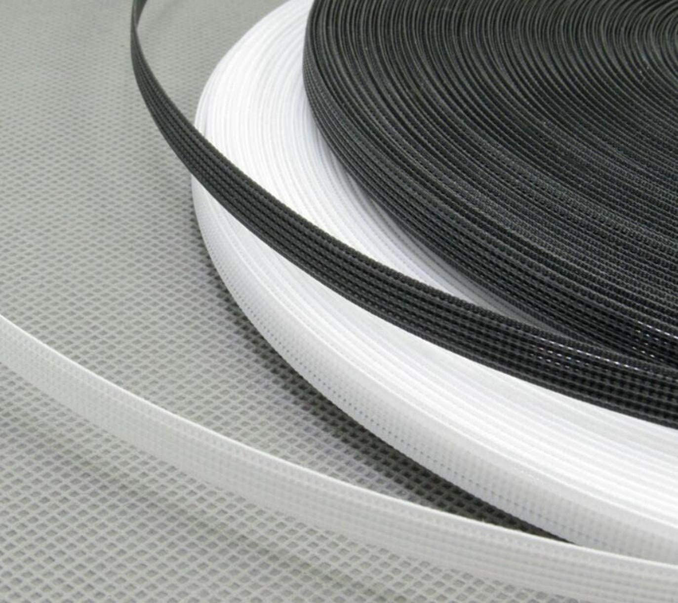 White ZHONGJIUYUAN 50 Yards Poly Polyester Boning 6mm Polypropylene