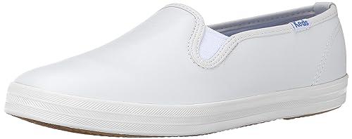 3c45f9f6c3983 Keds Women s Champion Original Leather Slip-On Sneaker  Amazon.ca ...