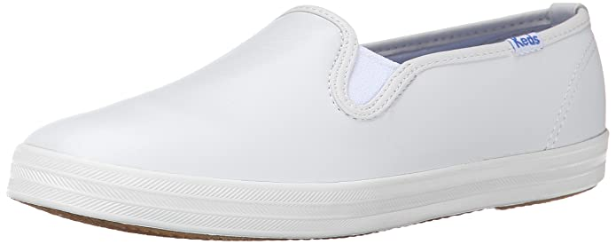 keds leather slip on tennis shoes