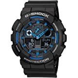 Casio G-Shock Men's Ana-Digi Dial Resin Band Watch - GA-100-1A2