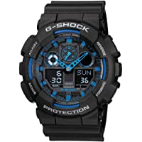 Casio G-Shock Men's Analog-Digital Dial Resin Watch - GA-100-1A2DR