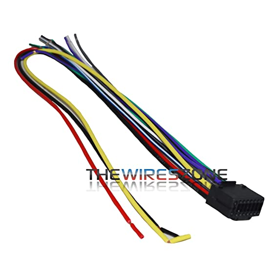 Amazon 16 Pin Wire Harness For Select Kenwood Car Radio Cd