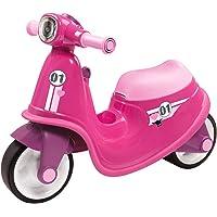 Big 800056376–Classic Scooter Girlie véhicule pour Enfant Rose