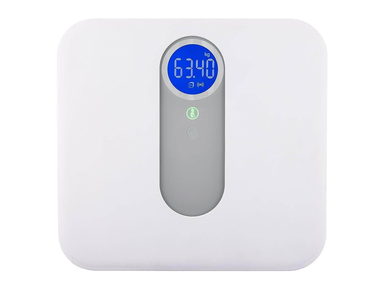 Topcom Báscula multifuncional - Báscula de baño (Gris, Color blanco, 330 mm, 310 mm, 1,8 kg, Vidrio): Amazon.es: Bebé