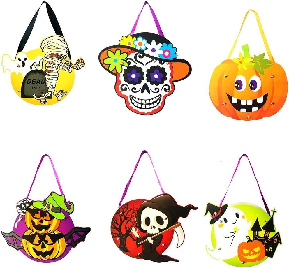Funpa 6PCS Bag Creative Portable Assorted Styles Candy Tote Bag