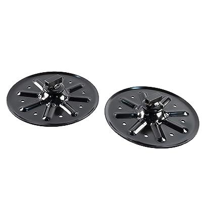 "Lippert 314667 Landing Gear Foot Pad 9"" Round: Automotive"