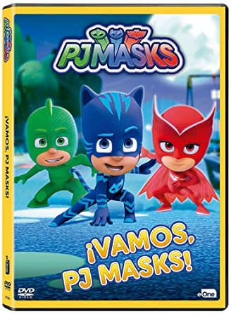 Pj Masks - ¡Vamos, Pj Masks! [DVD]: Amazon.es: Animación ...