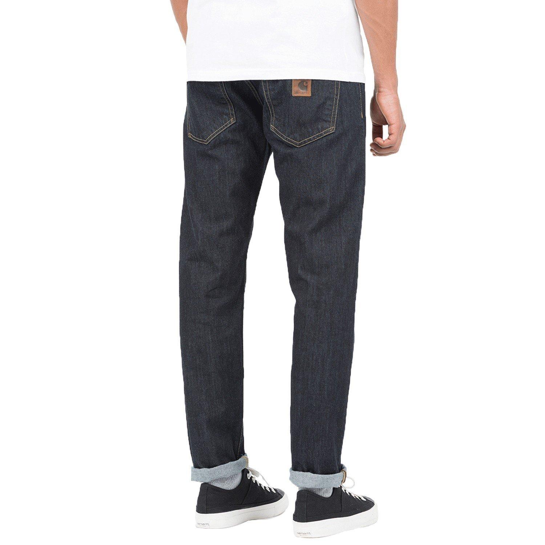 Carhartt bucanero pant pantalones vaqueros azul Basic Wash ...