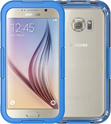Samsung Galaxy S6 Case With Waterproof Case Amazon Co Uk Electronics