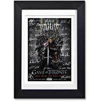 Memorabilia Game Of Thrones Full Cast Signed Autograph Signature A4 Poster Photo Print Photograph Picture TV Show Series Season DVD Boxset Present Gift