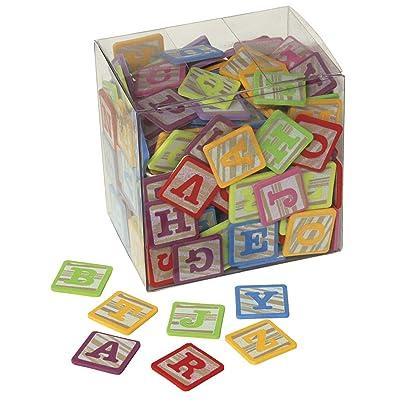 PACON WonderFoam Alphabet Stickers Blocks: Toys & Games