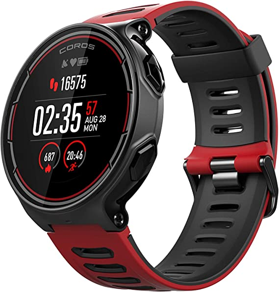 COROS PACE GPS Sports Watch with Wrist-Based Heart Rate Monitoring | Includes Running, Cycling, Swimming and Triathlon Features and Barometric Altimeter, STRAVA Compatible
