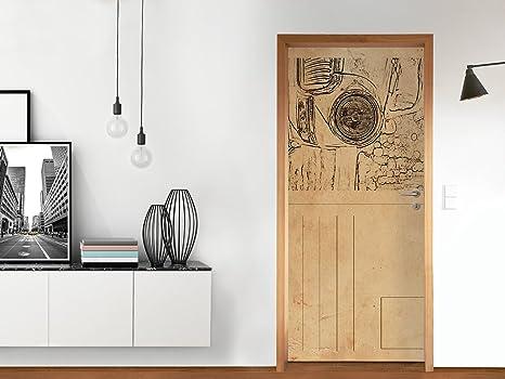 Decorazioni per Porta 83.5x197 cm (Max.) | Decorazione Cucina ...