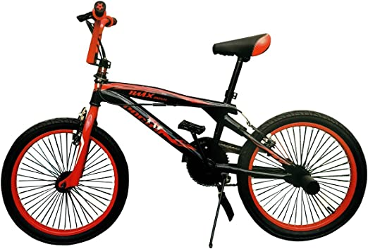 Rojo 2058-3.0 Bicicleta BMX PACIF FREESTYLE para ni/ños tama/ño 20 ruedas FAT