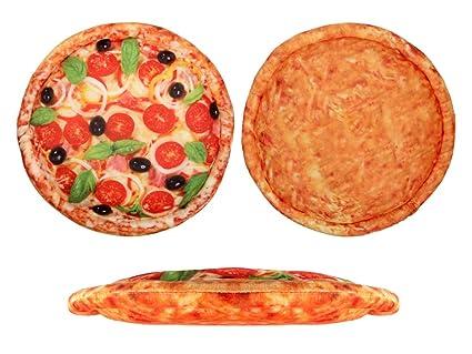 Alsino Cuscino A Forma Di Pizza Nella Scatola Guanciale 40 Cm