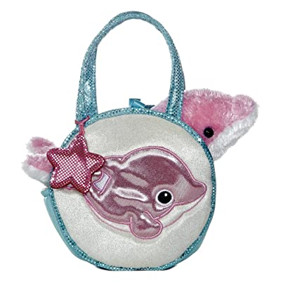 "Aurora - Pet Carrier - 7"" Dancing Dolphin Pet Carrier: Toys & Games"