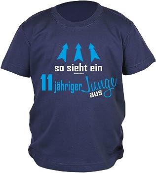 Jungen 11 Geburtstag Kinder T Shirt Kindergeburtstag Geschenk 11