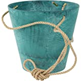 Art Stone fioriera vaso per piante, Claire, resistente al gelo e leggera, azure, 17x 17x 15cm, 136246