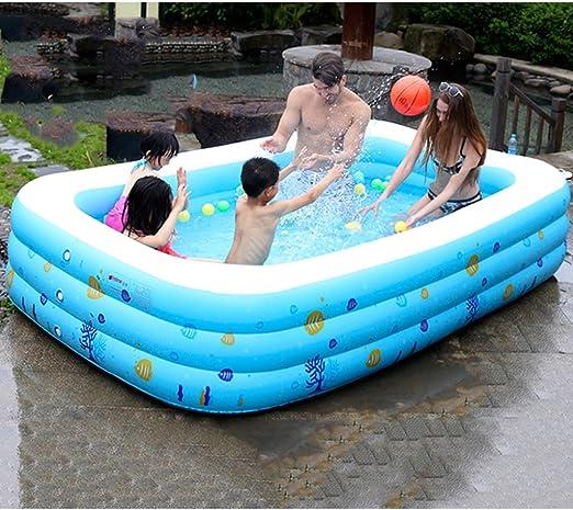 DT Piscina para Niños Bebé Parque acuático Hinchable Sobre el Agua ...