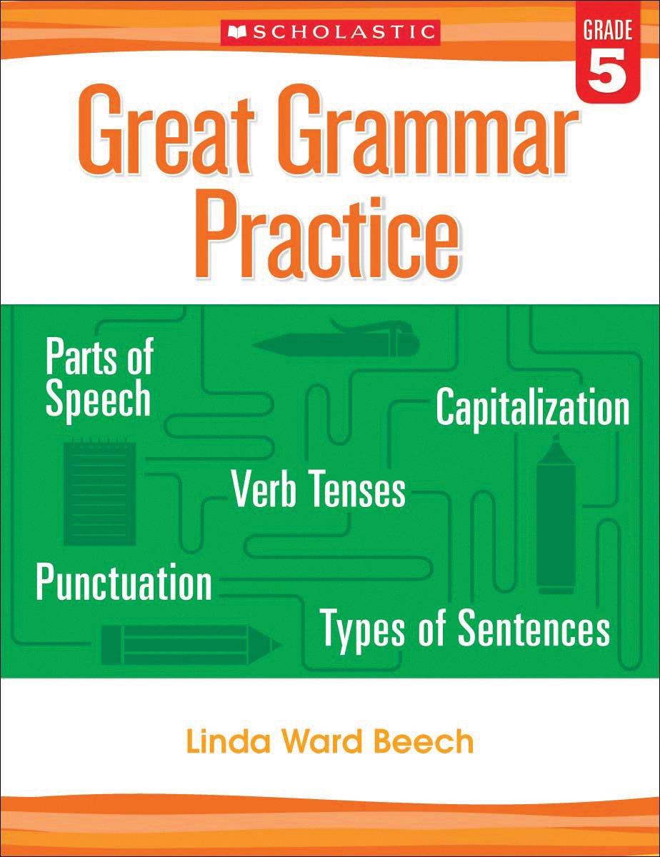 Workbooks grammar and punctuation workbook : Great Grammar Practice: Grade 5: Linda Beech: 9780545794251 ...