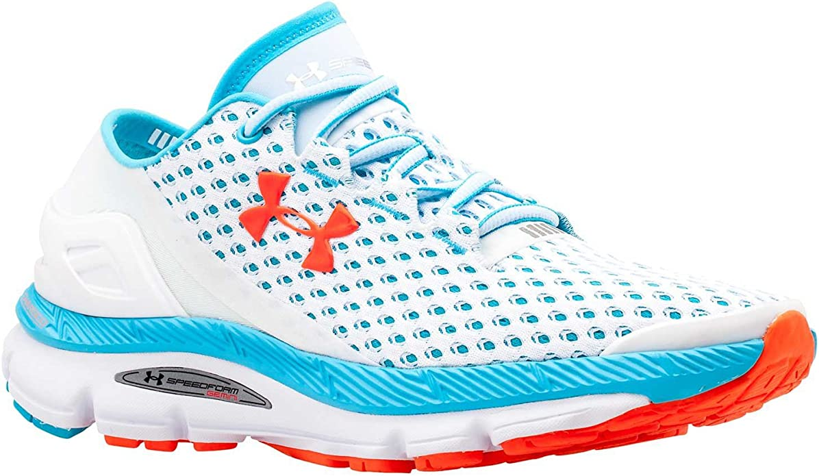 Under ArmourUA W Speedform Gemini - Zapatillas de running para mujer, color Lead 029, talla 445: Amazon.es: Zapatos y complementos