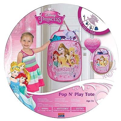Playhut Pop N Play Laundry Tote - Disney Princess: Toys & Games