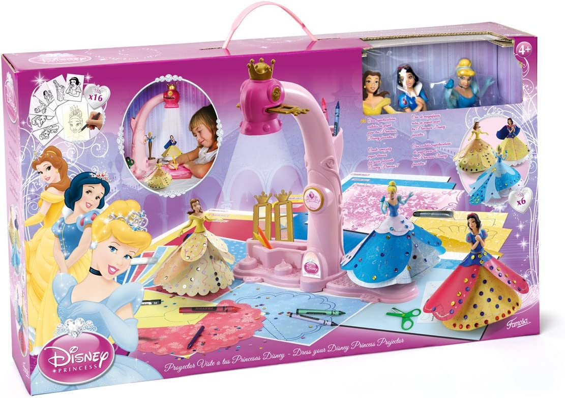 Famosa Arts & Crafts Disney proyectores Dress Your Princess - Set ...