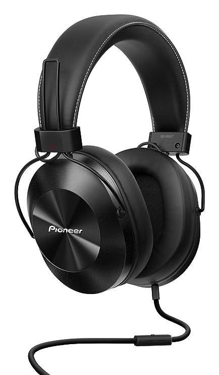 Pioneer SE-MS5T-K - Auriculares de tipo diadema (HiRes, power bass