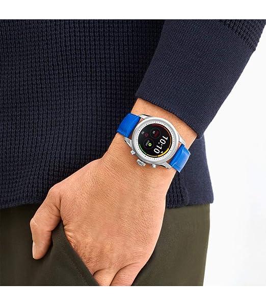 Reloj Montblanc Summit 2 Smartwatch 119722 Acero y Correa de ...