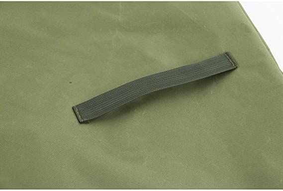 Impermeabile e Antivento Colore: Beige con Chiusura a Scatto QEES JJZ142 Coprisedia per Sedia da Giardino
