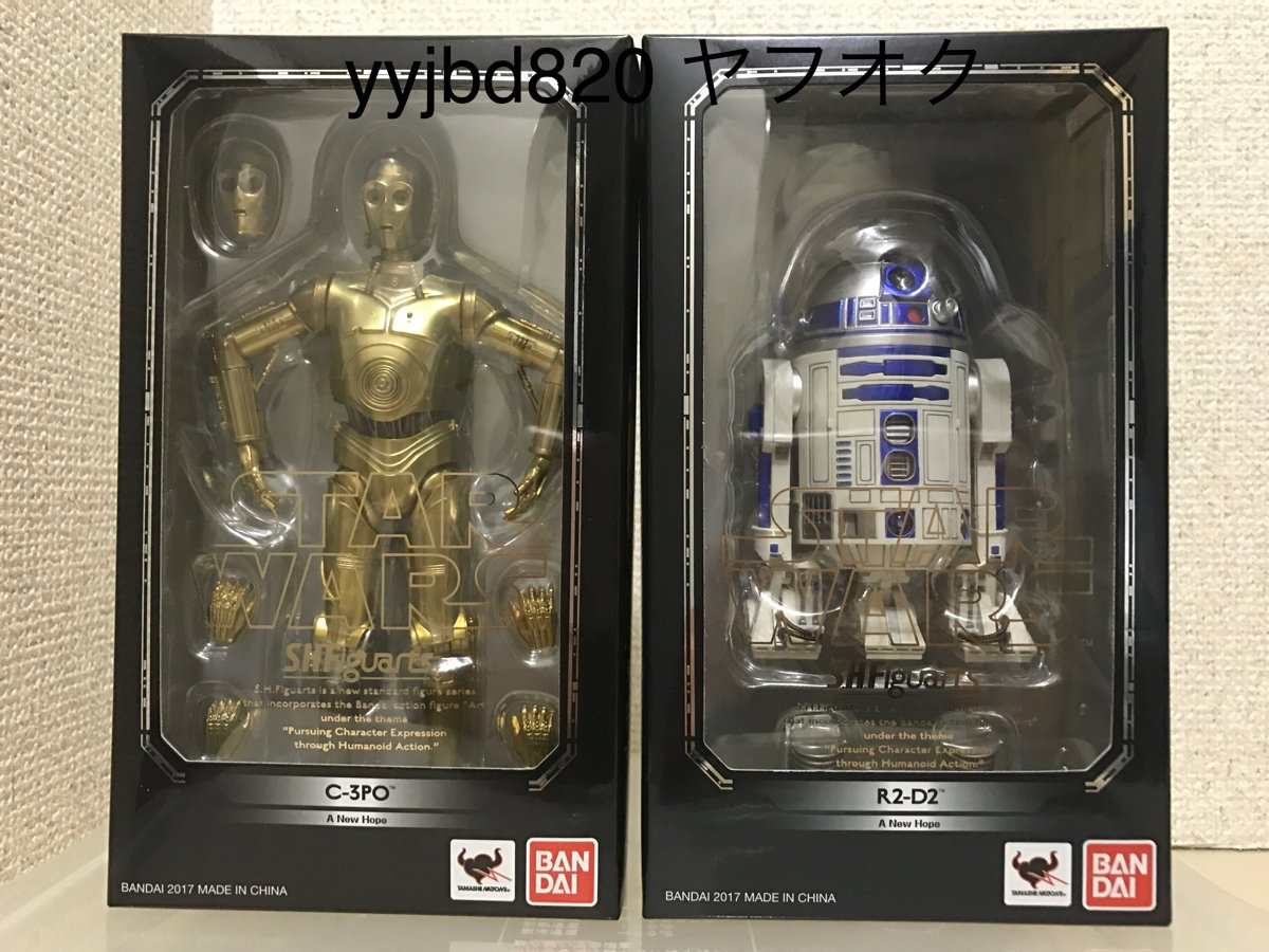 Bandai S.H.Figuarts A New Hope C-3PO and R2-D2 Star Wars