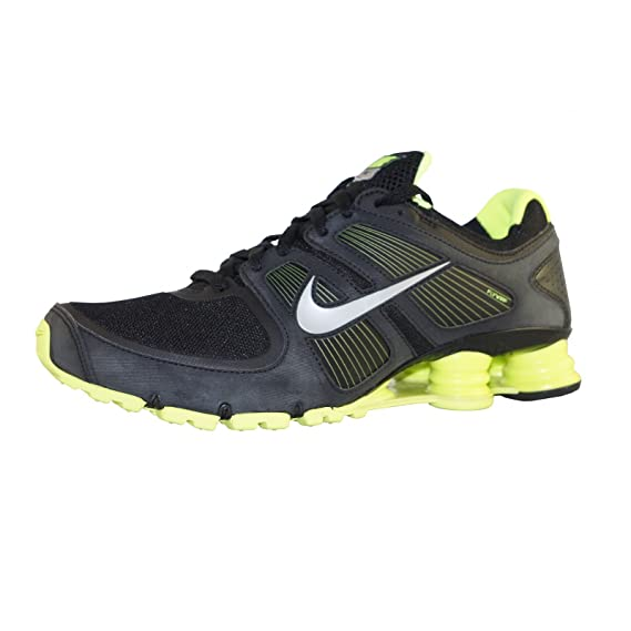 size 40 2a0a7 13111 shox turbo +11 running shoes sneaker, Black, 7 UK