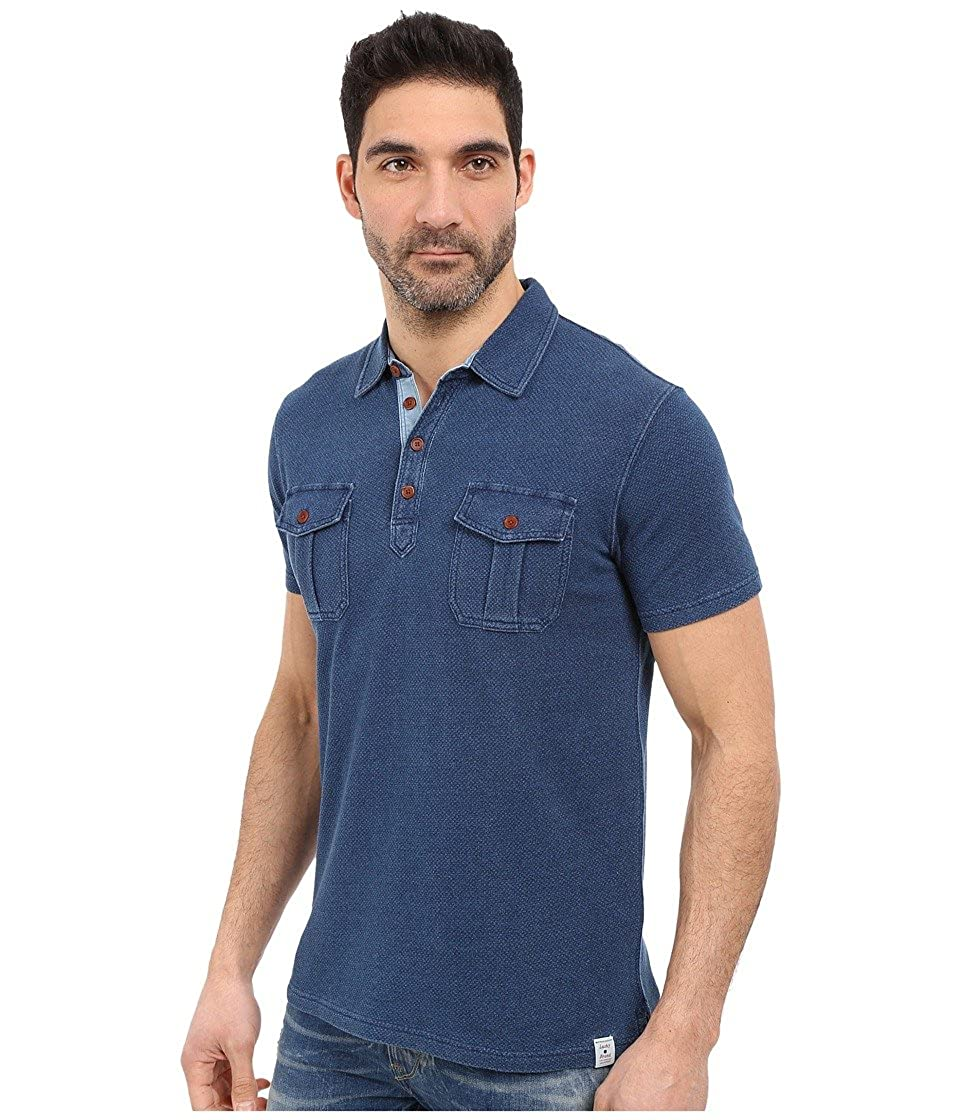 Lucky Brand Mens Double-Pocket Polo Shirt