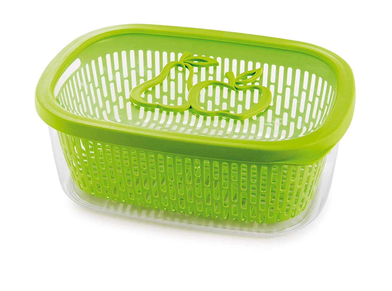 Snips Aroma Storage Fruit Keeper, Green