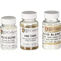 Wine Tannin 1 oz, Pectic Enzyme 1 oz, Acid Blend 2 oz Bundle