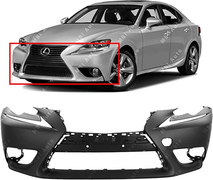 Details about  /CAPA Bumper Cover Facial Front for Lexus IS300 IS250 IS350 LX1000264 521195E905