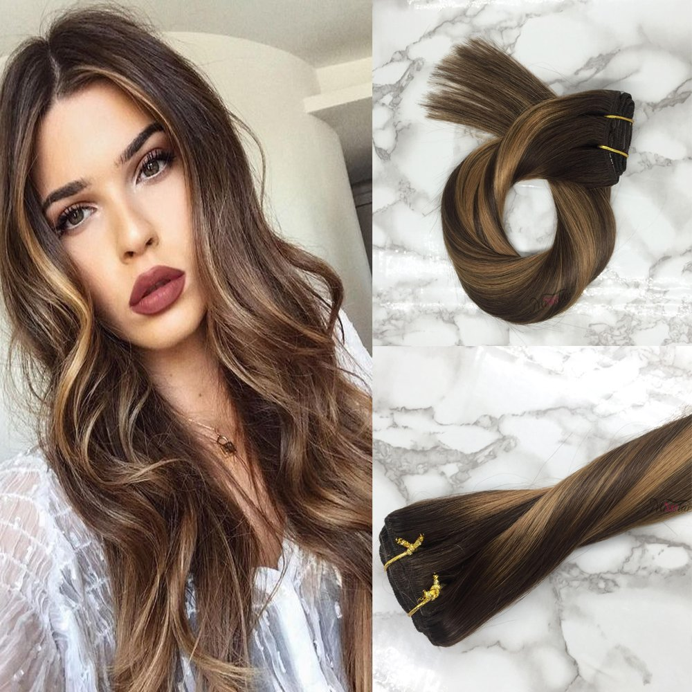 60off Misstar 18 Thick 120g Clip In Hair Extensions Real Human