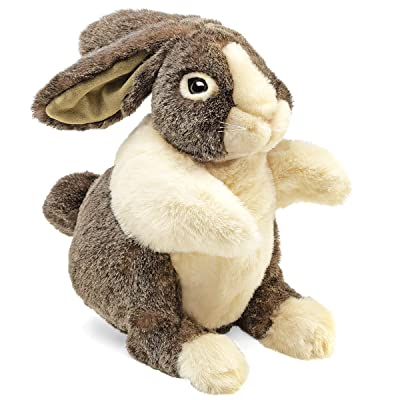 Folkmanis Dutch Rabbit Hand Puppet: Toys & Games