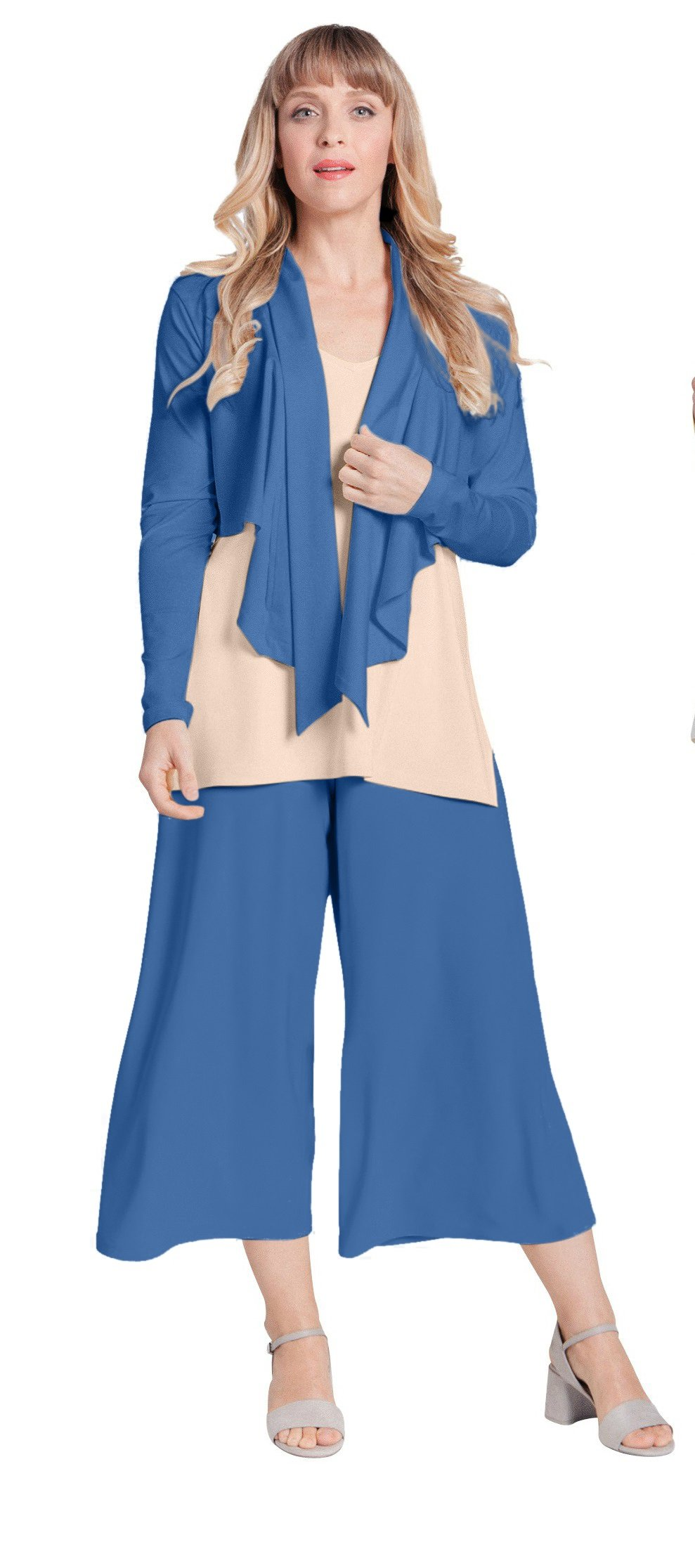 Sympli Gaucho Pant~French Blue (French Blue, 12) by Sympli