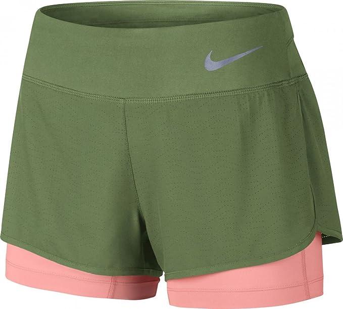 Nike W NK FLX 2In1 Rival Kurze: : Bekleidung
